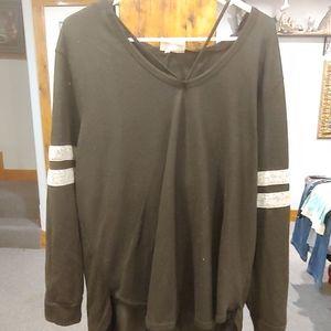 Women's plus size sweater W#385